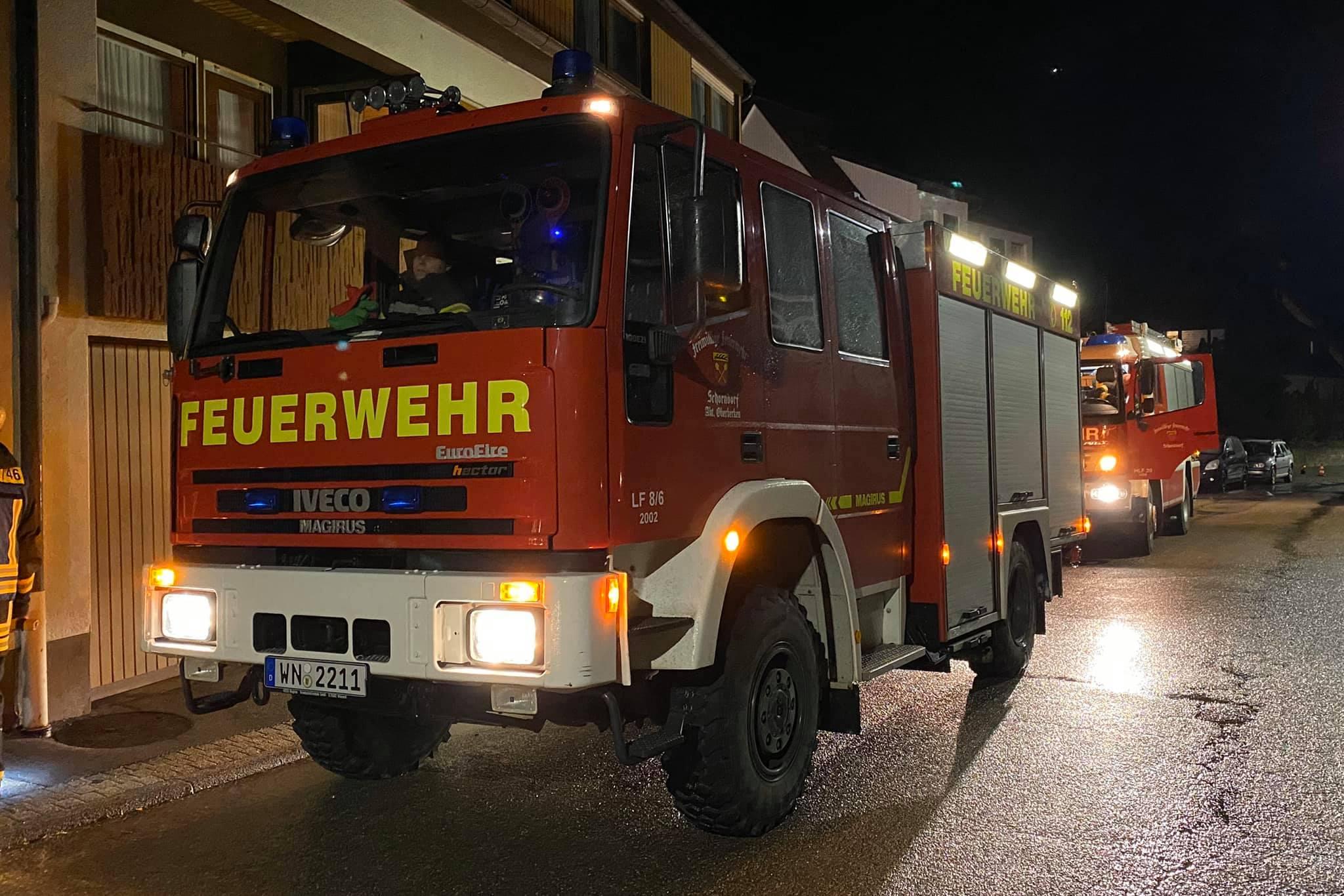 Feuerwehr Schorndorf Einsätze